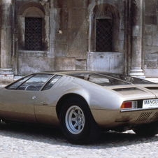 The Mangusta was the brand's first big model