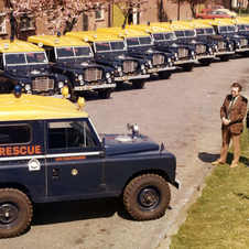 Land Rover Series III 88 Hard Top Coast Guard Vehicle