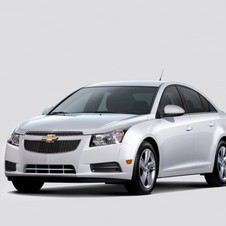 The car gets the full Aero Package from the Cruze to improve fuel economy