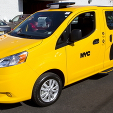 The taxis are based on the NV200 van