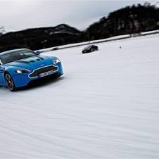 Aston Martin on Ice culmina em vídeo