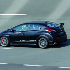 The body is inspired by the Honda WTCC car