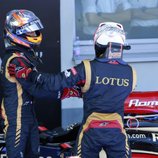 The two drivers have brought Lotus relative success