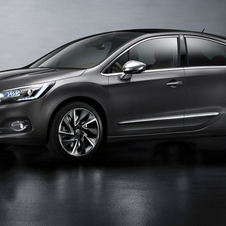 Besides a new front design, the DS4 gets new headlights and a range of updated engines