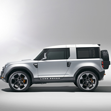 Land Rover DC100 Concept Side