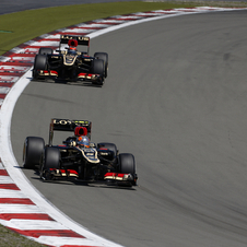 They finished second and third in the German Grand Prix