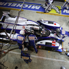 The car finished in second and fourth in the 24 Hours of Le Mans