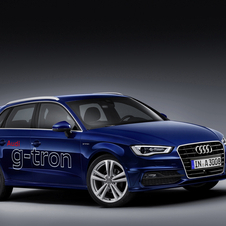 Audi A3 Sportback g-tron can be driven on e-gas, natural gas or petrol