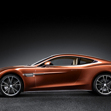 Aston Martin's latest model is the new Vanquish