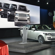 Land Rover presented the fourth generation Range Rover