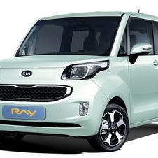 Kia releases details of its new Ray compact car
