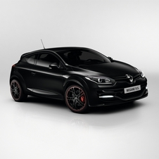It combines a large Renault emblem, narrow grill and elliptical headlights