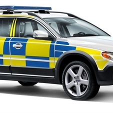 It is hoping to make the V70 police vehicle more popular worldwide as well