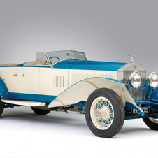 Rolls-Royce Phantom I Experimental Sports Tourer by Barker & Co.