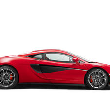 Under the bonnet the 540C is powered by a version of 540hp of the same twin-turbocharged 3.8-liter V8 engine used in the 570S