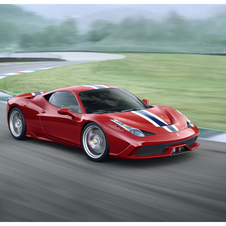 The 458 Speciale is the upgraded version of the 458 coming next year
