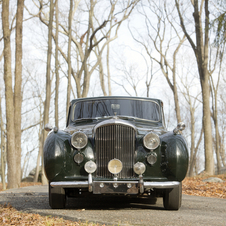 Bentley Mark VI 'Empress' Coupe