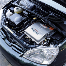 Power came from a 1.5-liter, four-cylinder engine and a electric motor