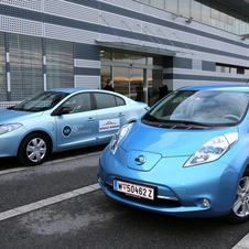 Renault and Nissan both supplied cars to the meeting in Vienna