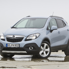 The Mokka is the second bestselling car in its segment