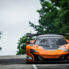 The racer is the second-generation GT3 car from McLaren GT and follows the same bases of the 12C GT3