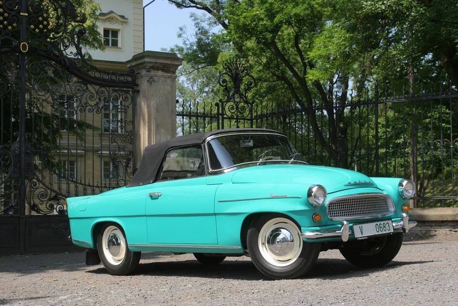 seltener skoda felicia cabrio von 1961 wagt 430 km