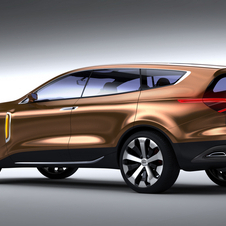 The concept imagines a premium crossover above the Sorrento