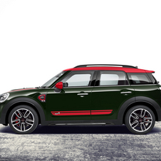 The sportier SUV can sprint from 0 to 100km/h in 6.5 seconds, 0.8 seconds faster than the Cooper S Countryman ALL