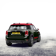 Countryman JCW will be available with a 6-speed manual or an 8-speed automatic transmission