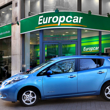 Nissan Leaf Now Available for Rental from Europcar