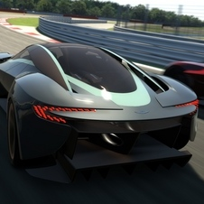 Car was developed in-house by the Design team at Aston Martin