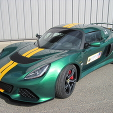 The Exige is still being upgraded as well.