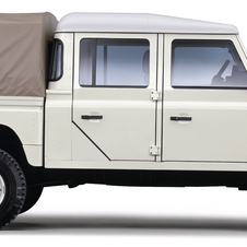 Land Rover 130 Defender Chassis/Cabine S