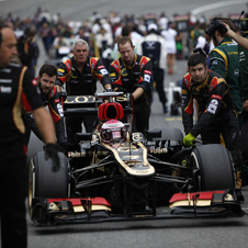 Lotus will wait for the Bahrain test in February