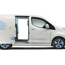 Nissan e-NV200 Heading into Production in March 2013, FedEx Testing It