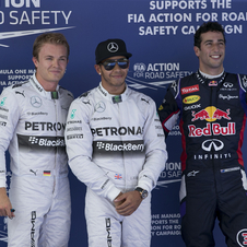 Daniel Ricciardo got his maiden Formula 1 podium