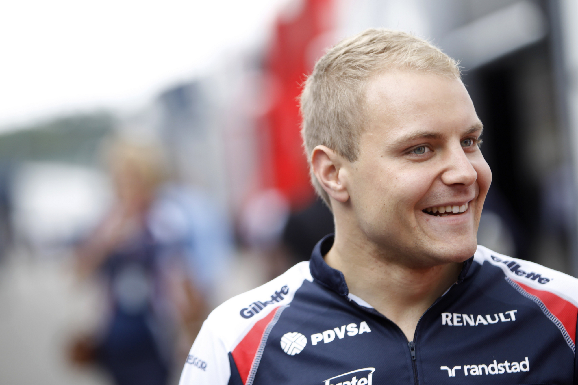 Bottas was reserve driver and test driver for Williams for 2012