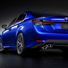 In terms of design the GS F gets some updates that give it a more aggressive look