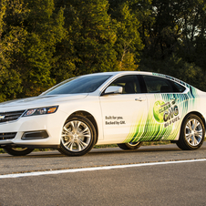 The Impala bi-fuel will go on sale in the summer 2014
