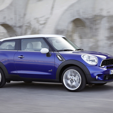 The Paceman is the eighth Mini model and two more are coming