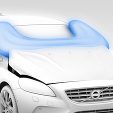 For now the V40 is the only Volvo model with the pedestrian airbag