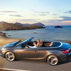 The Opel Cascada is doing quite well for Opel