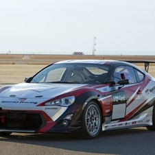 GRMN tested the GT86 racecar