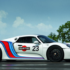Porsche appears to be offering the 918 has a more street friendly machine and an all-out supercar
