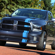 The Urban Ram has a heavily modified Hemi engine