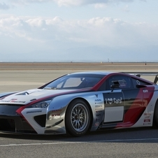 GRMN has also worked on the LFA racecar