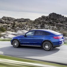 Mercedes will be launching the new GLC Coupé with a range of three engine options