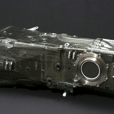 A carbon fiber transmission case was introduced in 2012