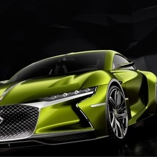 The E-Tense supercar should only be launched in 2021