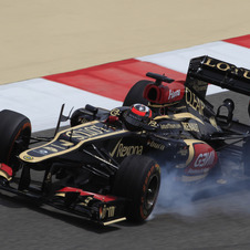 Lotus is also now in second place in the World Constructors' Championship